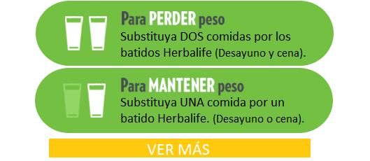 Programas de Control de Peso Herbalife
